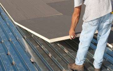 benefits of insulating Enfield Highway flat roofing